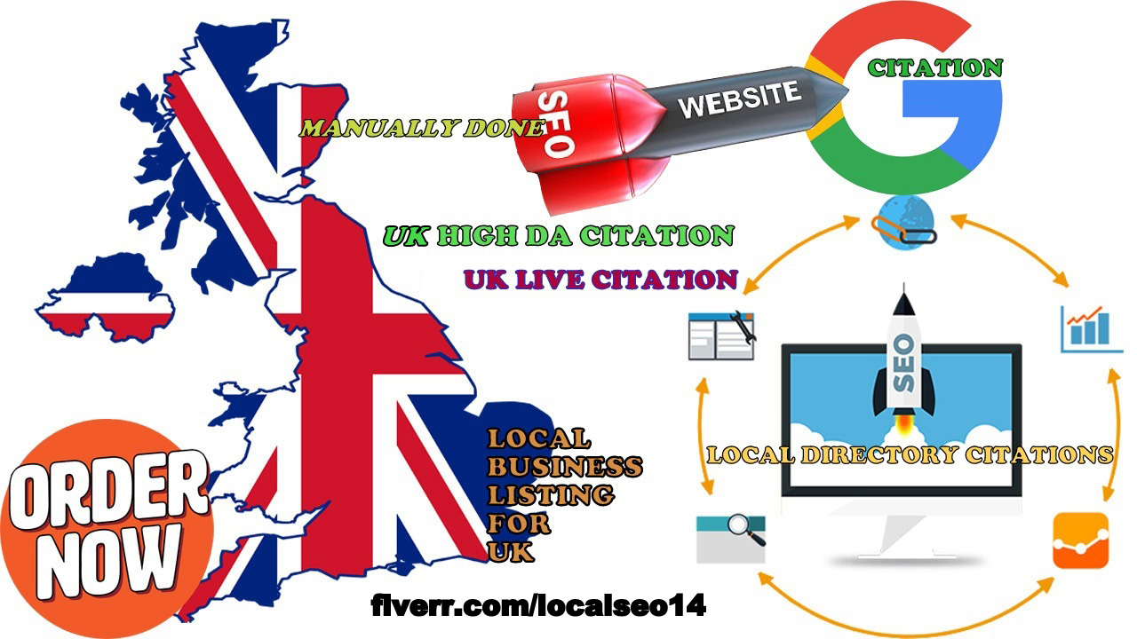 Uk Best Local Listing Citation Manually