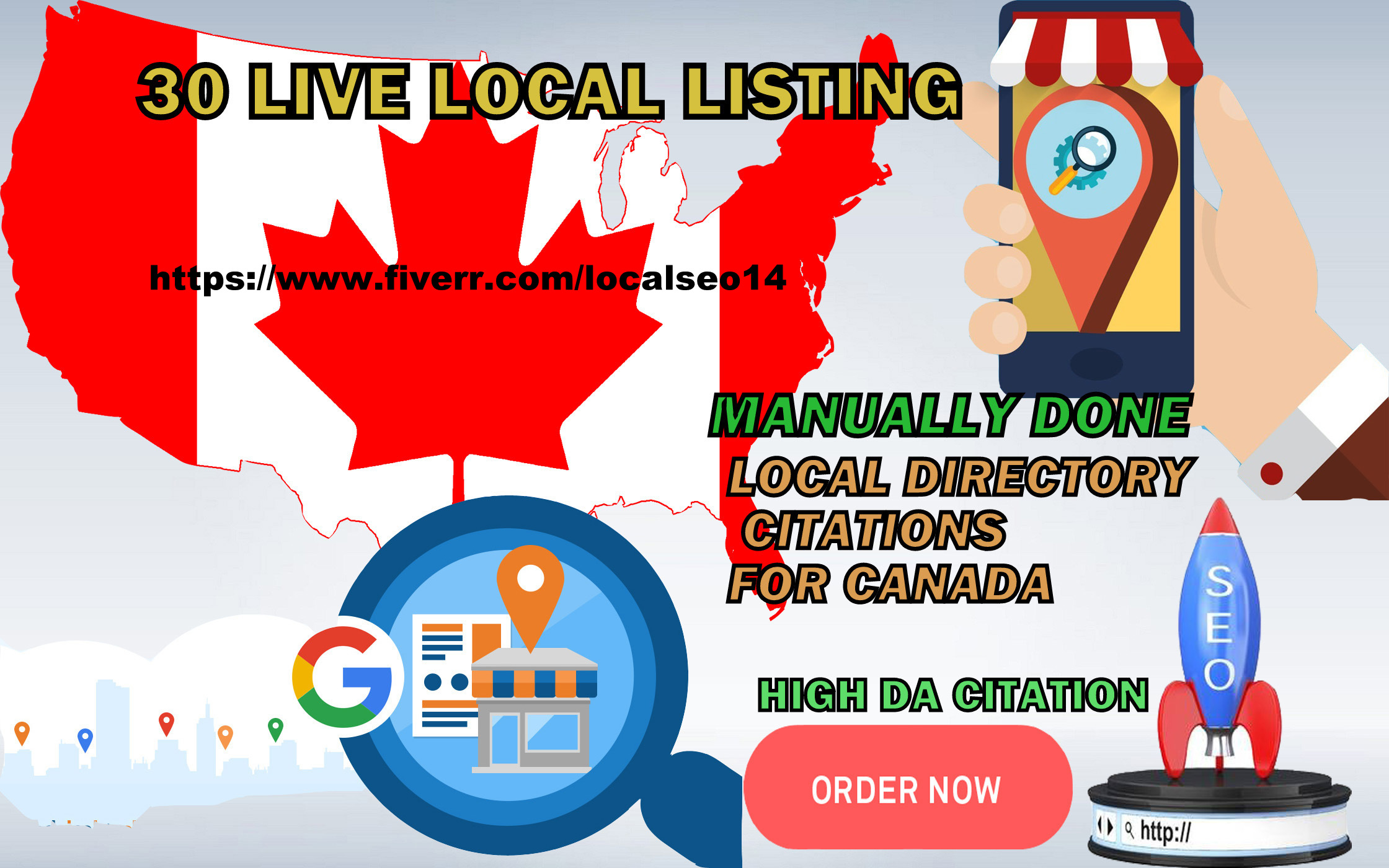 Local Listing Citation For Canadian Business