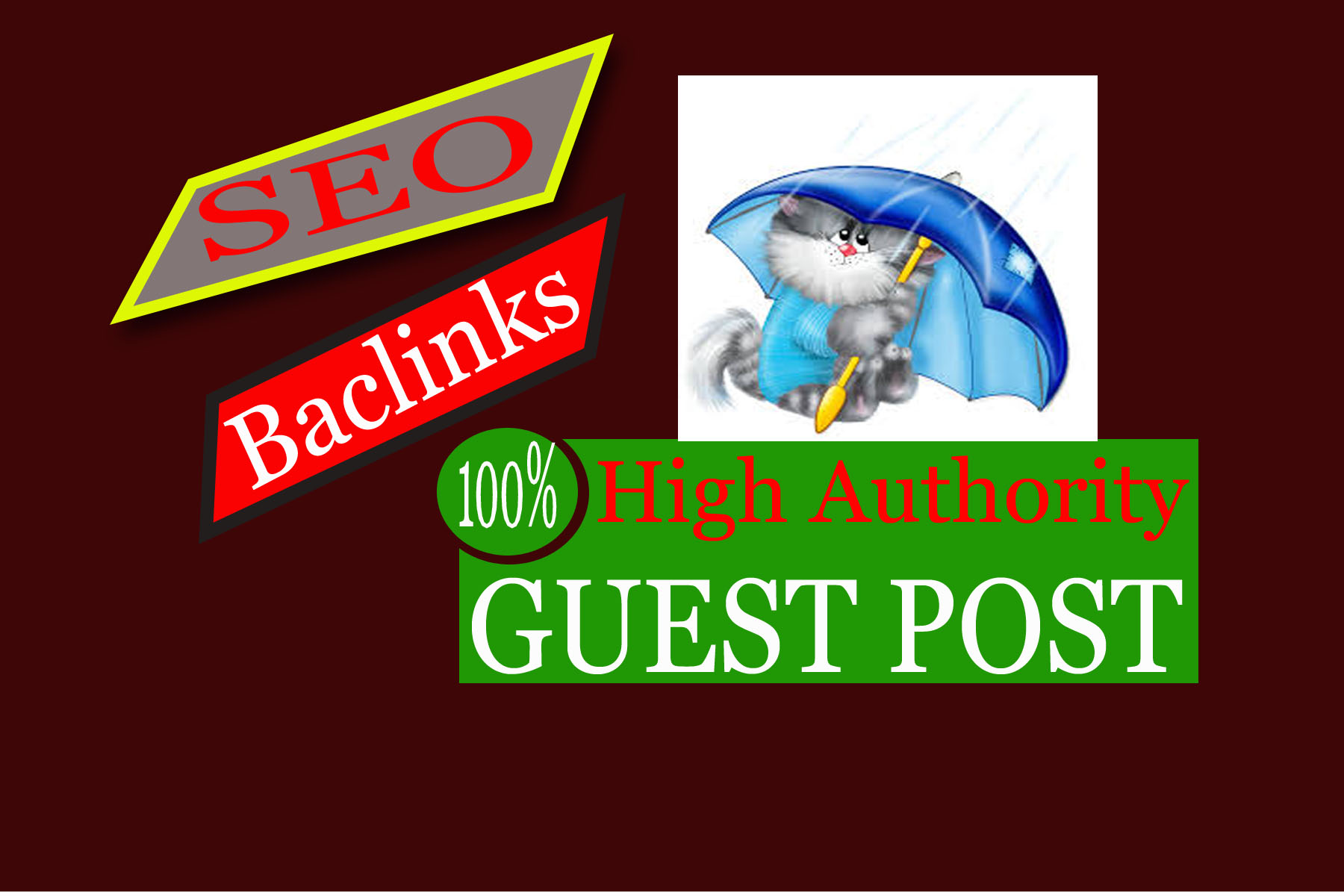 Publish 1 Guest Post High Authority Backlinks