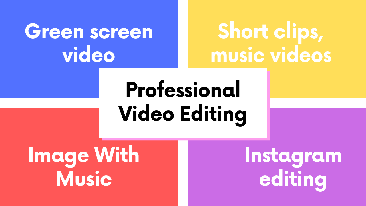 Do Professional Video Editing Within 24 Hours Delivery