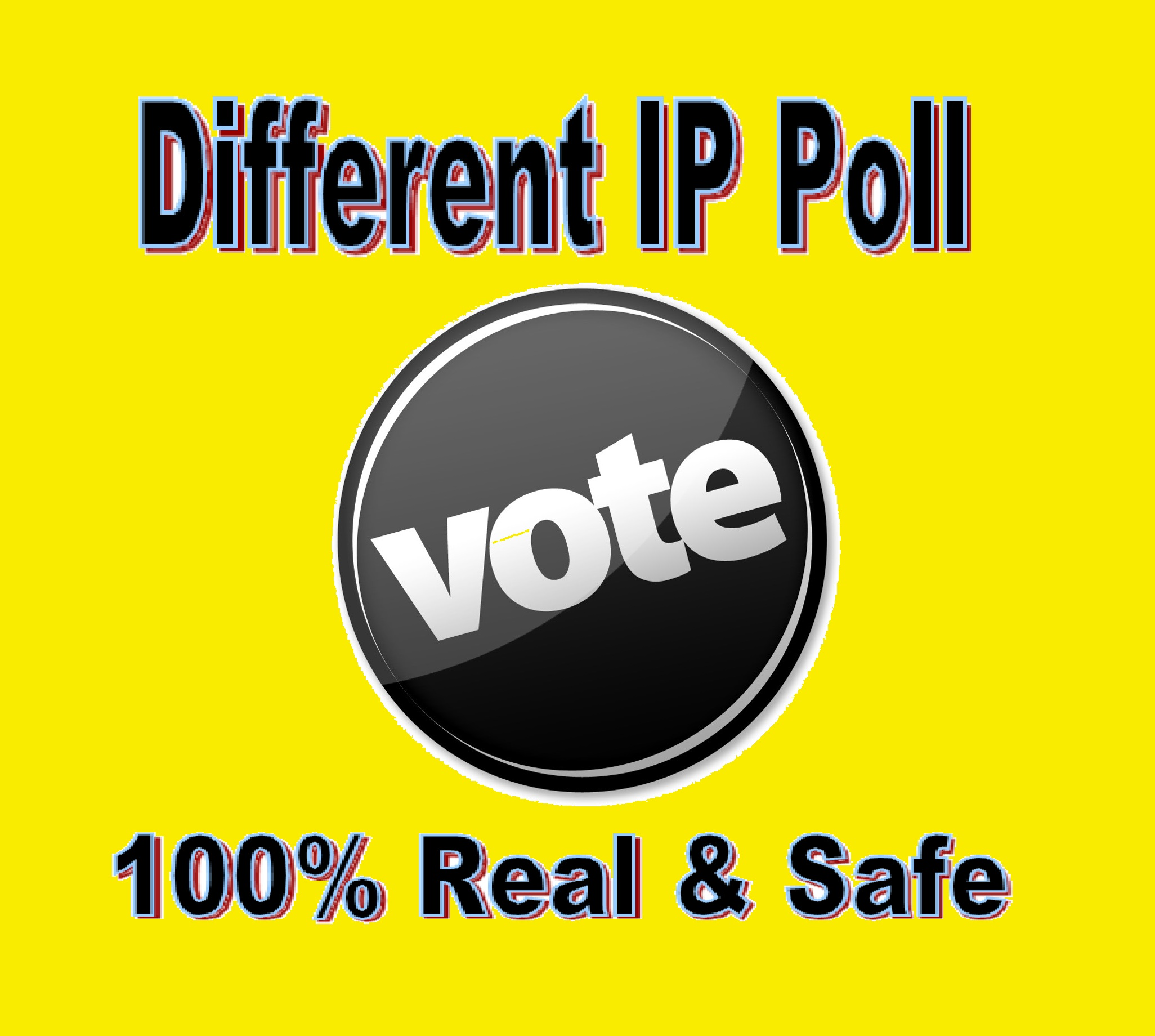 Grow instant 200 Different IP Votes For Any Online Voting Contest Polls