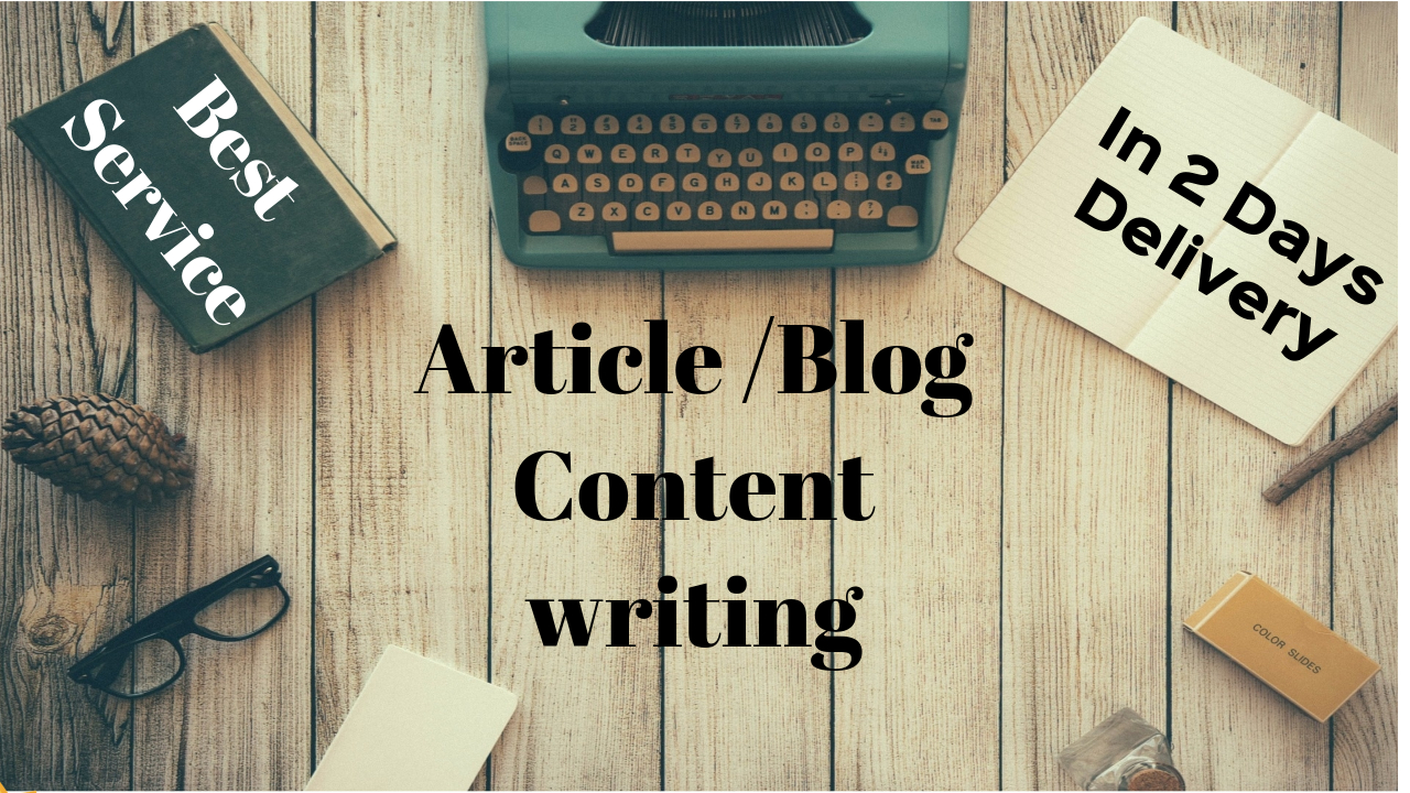 Write 500 Words Seo Article,  Blog And Web Content For You