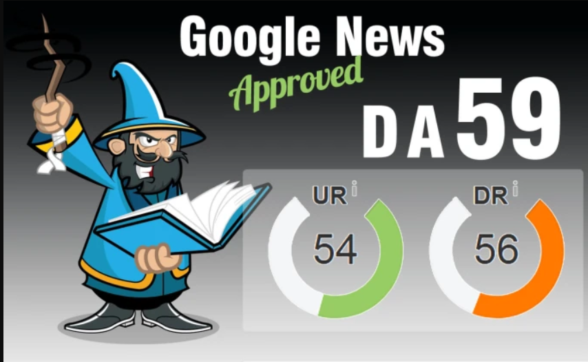 Publish On My Google News Approved Blog with Dof0llow Link DA 59