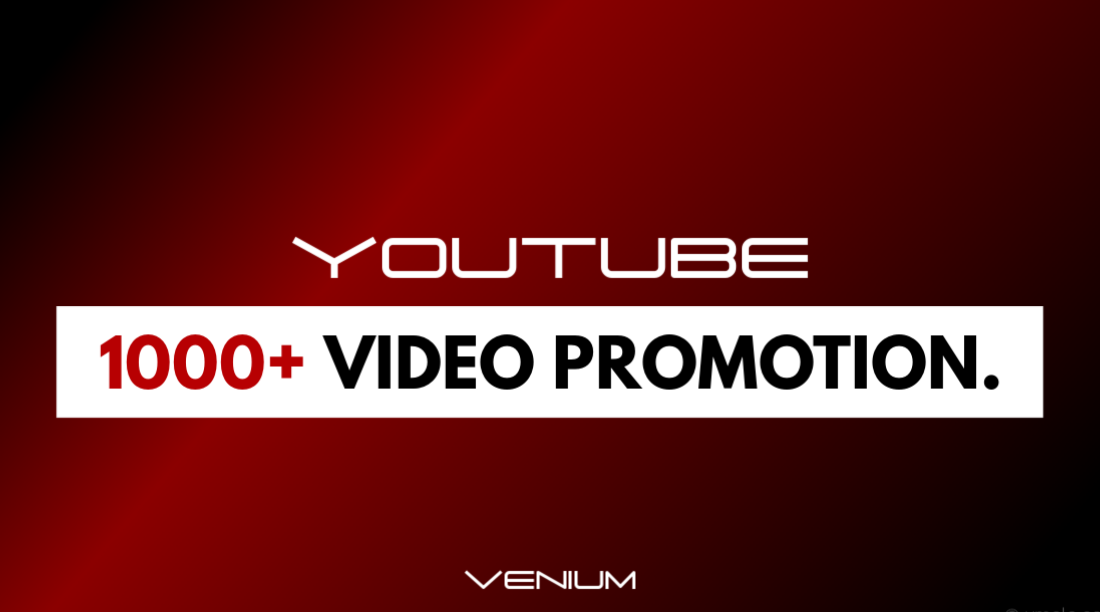 YouTube Video Promotion Through Ads & Social Networks