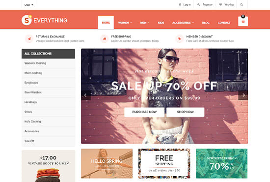 Design Fully Automated Shopify Dropshipping store and Facebook Ads