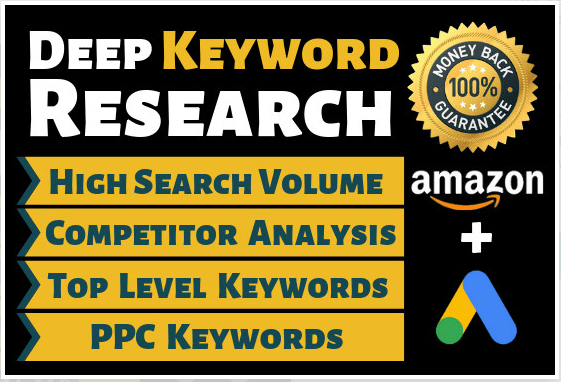 Do SEO Keyword Research,  Competitor Analyse And Backlinks