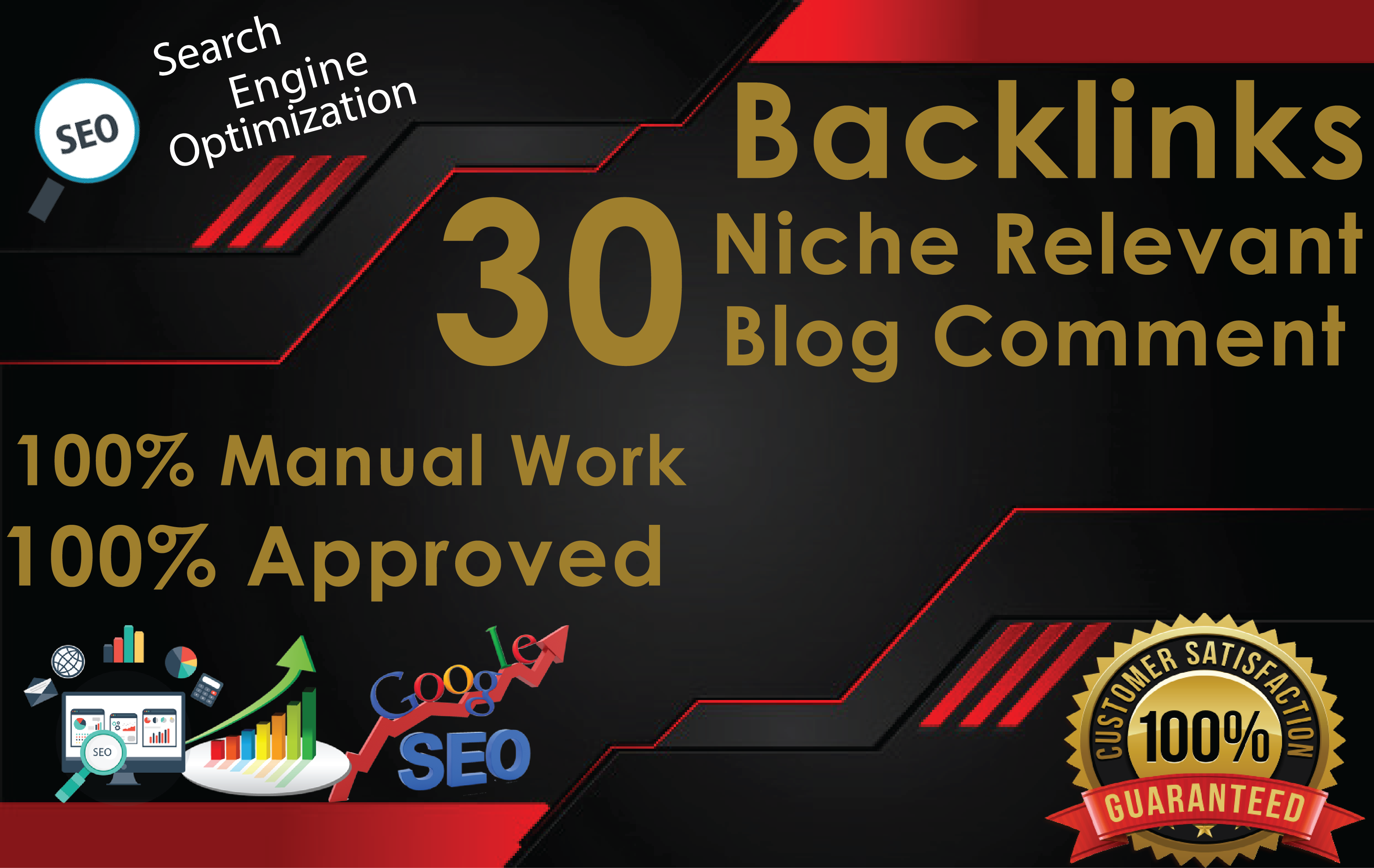 Do 30 Niche Relevant Manually Blog Comments Links