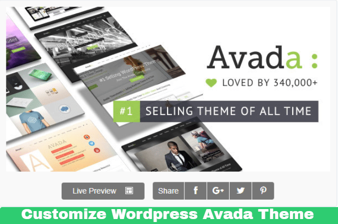 Create A Complete Website In Avada Wordpress Theme