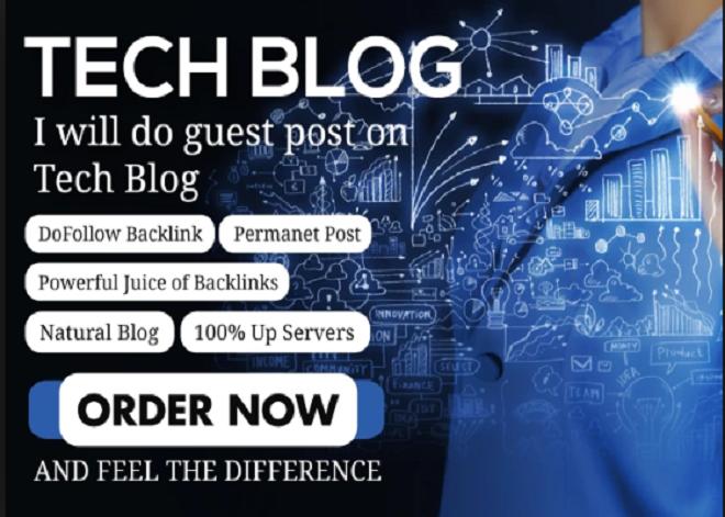 Publish guest post on HQ Tech blog