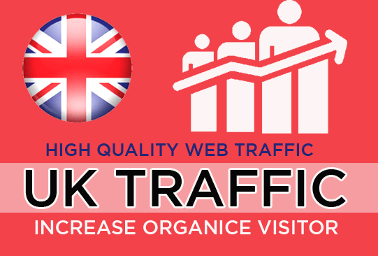 UK Targeted 30 DAYS Unlimited Visitors Traffic to Website
