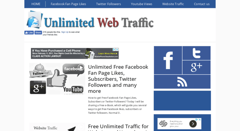 UNLIMITED REAL AND GENUINE HUMAN TRAFFIC TO YOUR WEBSITE FOR 30 DAYS