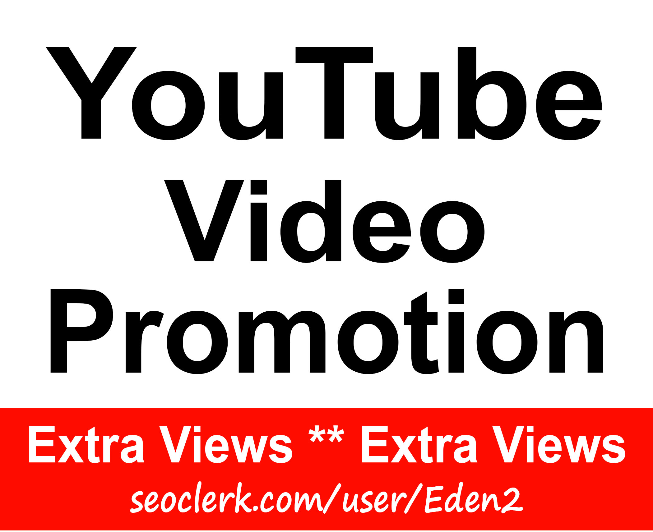 YouTube Video Promotion Non Drop & Good For Ranking