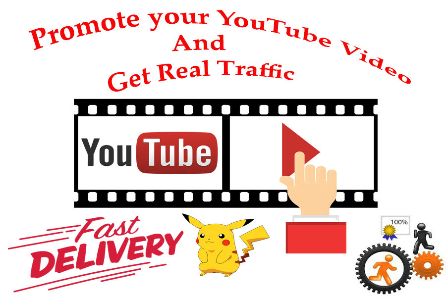 Super offer 1000+ youtube video promotion life time guarantee