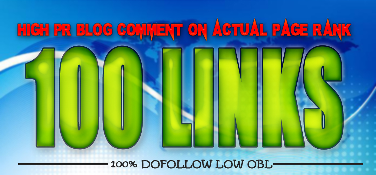 150 Dofollow Blog Comment Low Obl Pr7 To Pr2