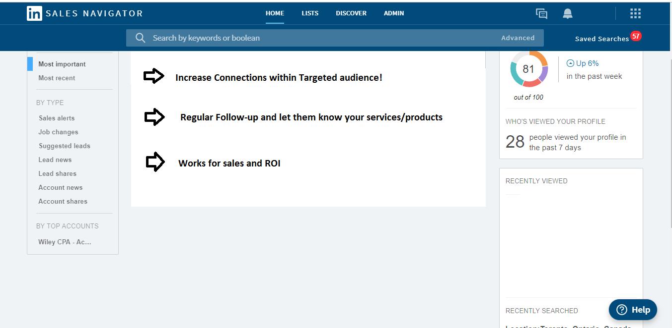LinkedIn Marketing and Prospecting