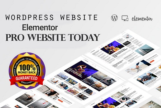 Install Elementor Pro And Create, Clone Wordpress Website Using This Page Builder
