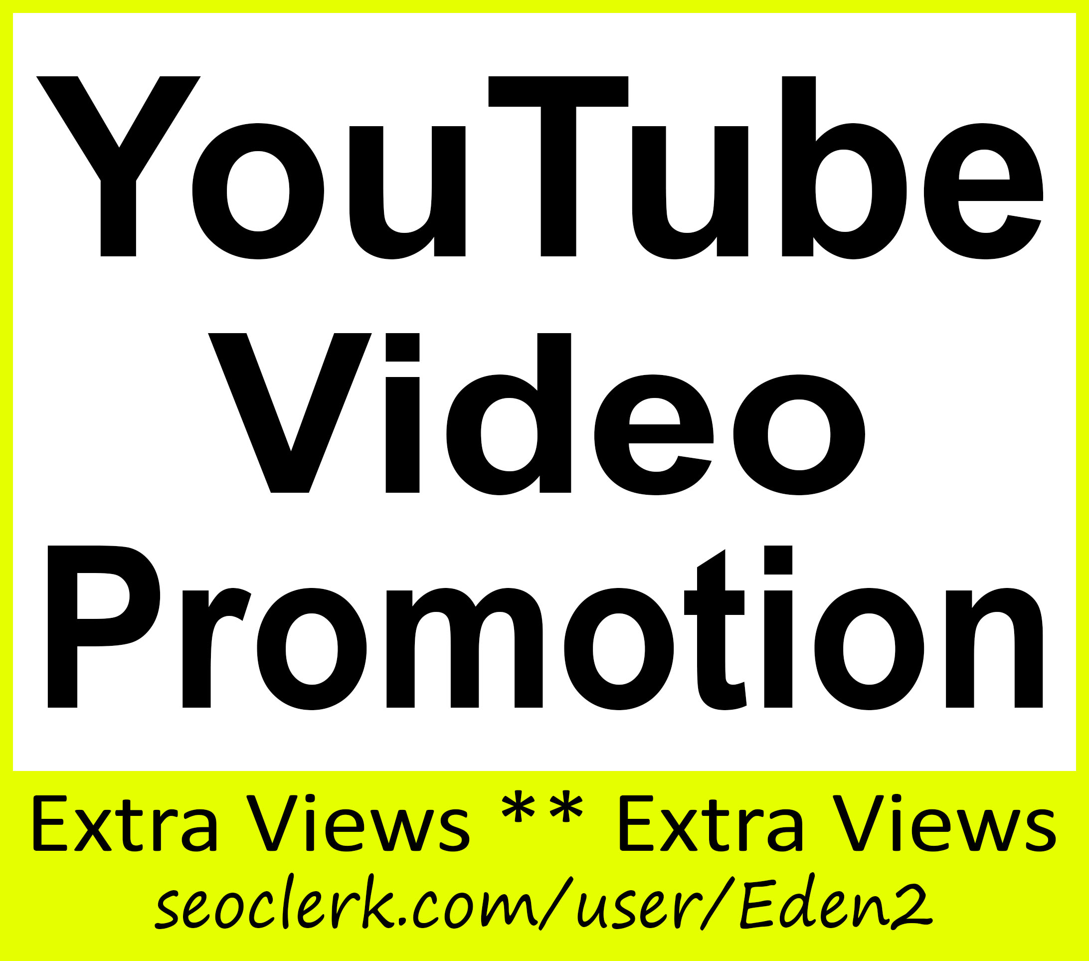 YouTube Video Promotion Service and Good For Ranking