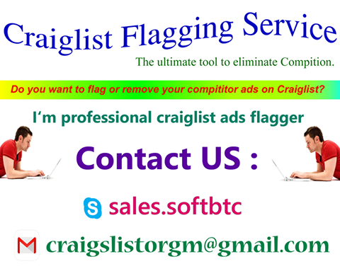 Craigslist Flagging Service Can Help You Generate More Sale
