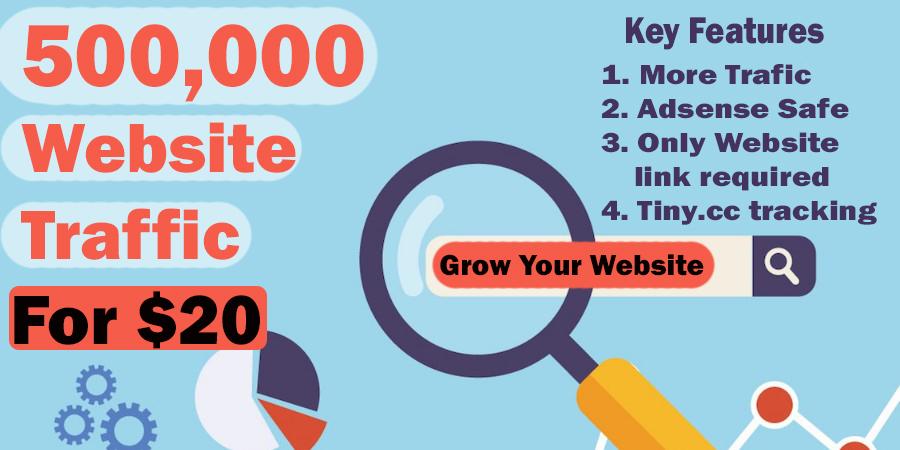 500,000 Website Visitors