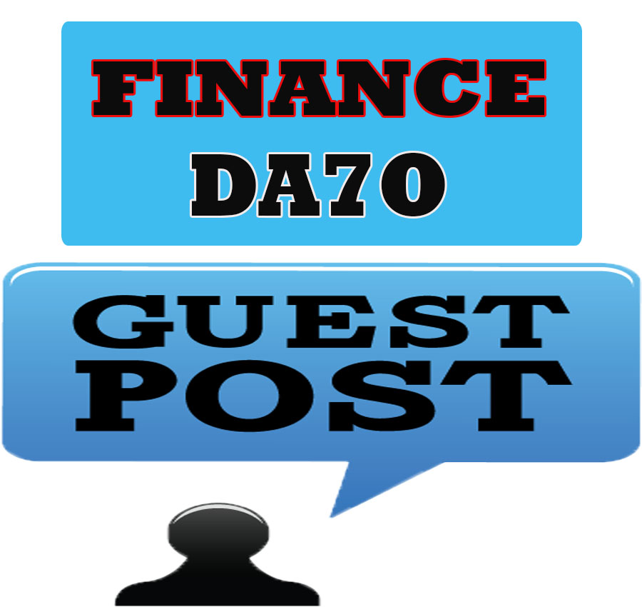 Guest post permanent in finance blog DA70x1 for $5