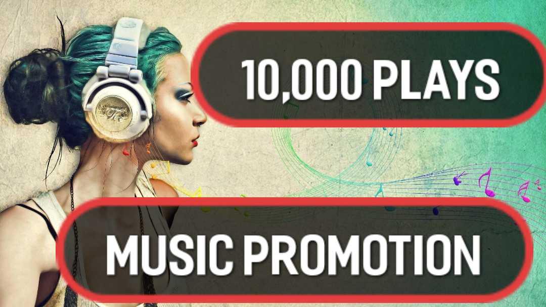Music promotion 10,000 HQ  Album Artist Playlist Unique Listeners