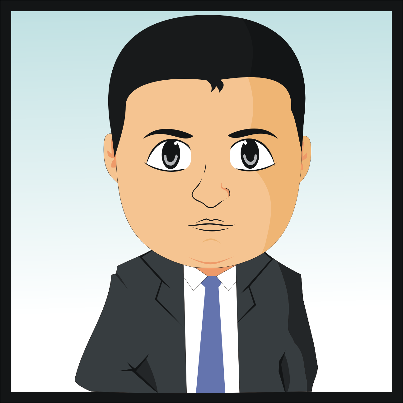 Create Cute Avatar Vector Of You In My Style For 5