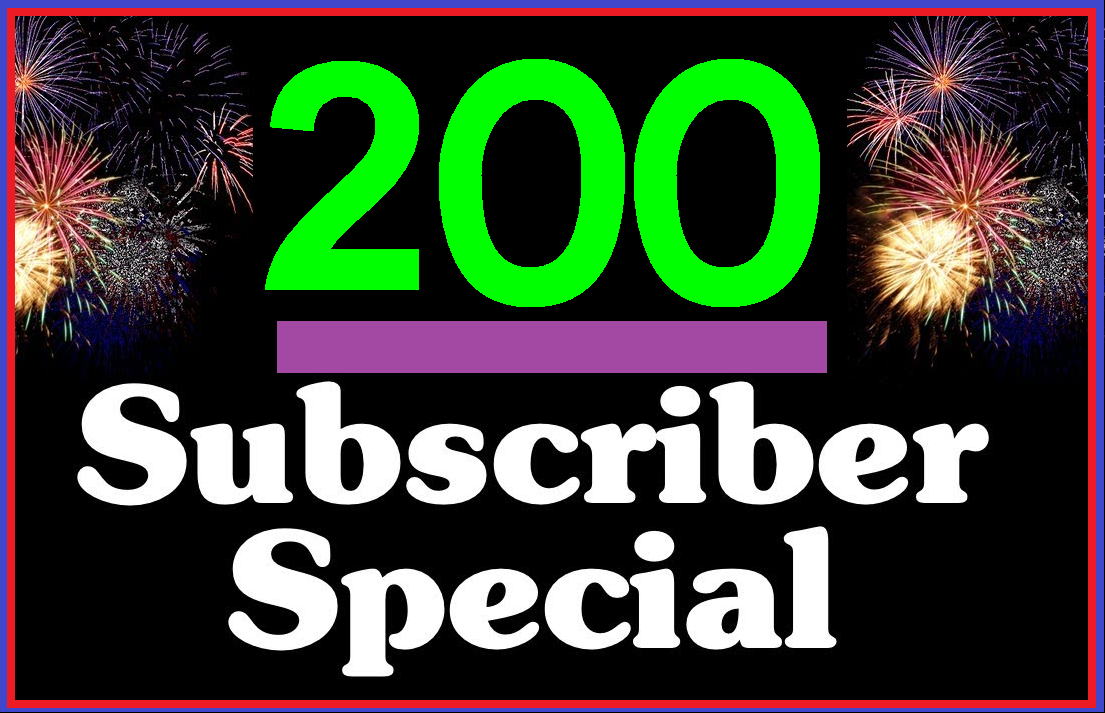 Get 200+ High Quality YouTube Sub For Promotion