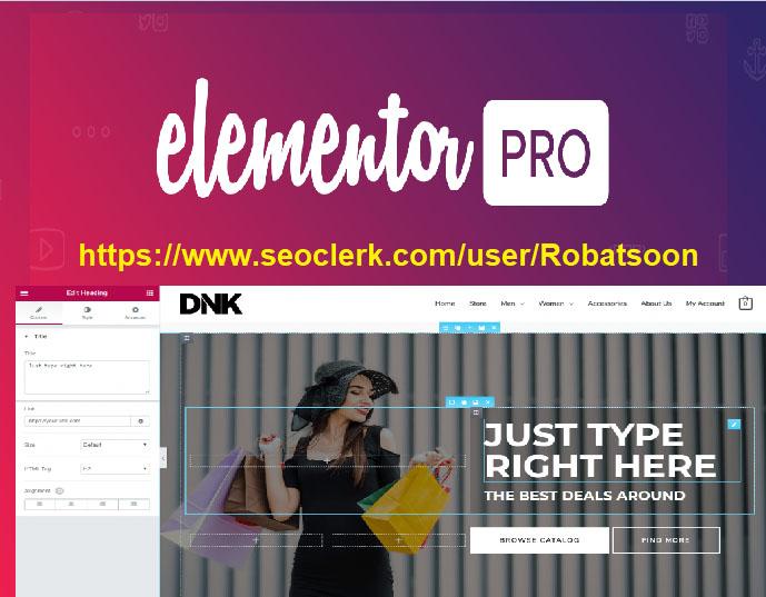 Create Wordpress Landing Page Using Elementor Pro