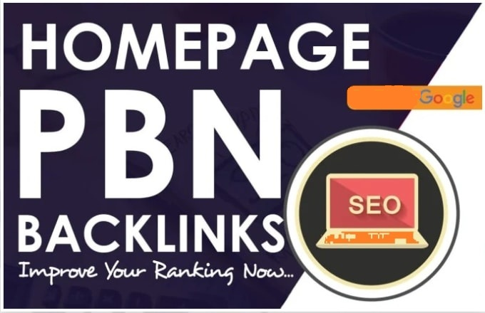 Do 10 Indexed High Tf Cf Permanent Homepage Pbn Backlinks