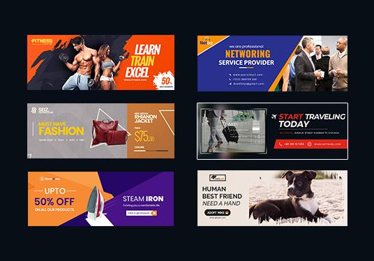 Design Web Banner,  Facebook Cover Banner,  Youtube Banner,  Fb Ads