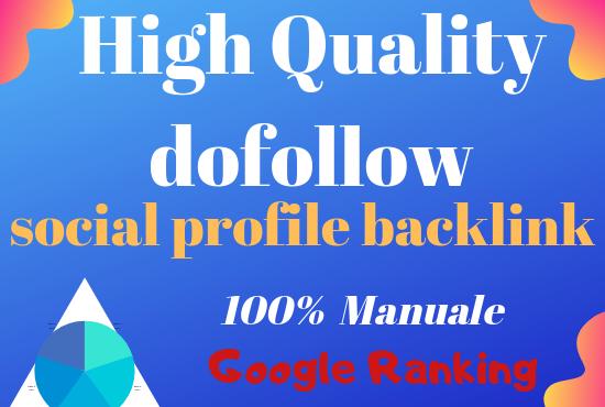 Create 100 High quality profile backlink