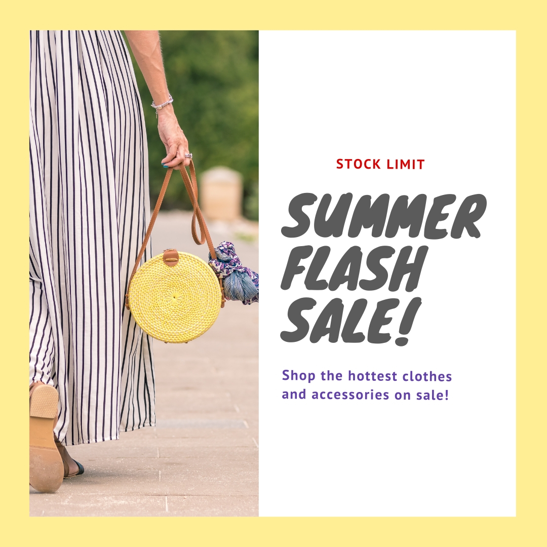 Design Stunning social Sale Posts In 24 Hours