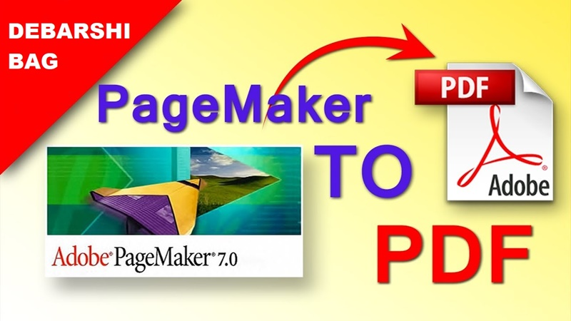 Convert Adobe Pagemaker File To PDF File For 3 Hours