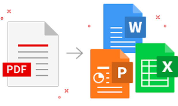 do PDF to excel word and power point