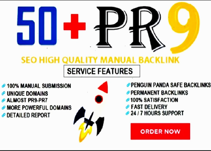 Manually Linkbuilding Pr9 Profile Seo Backlinks with EDU GOV-2019