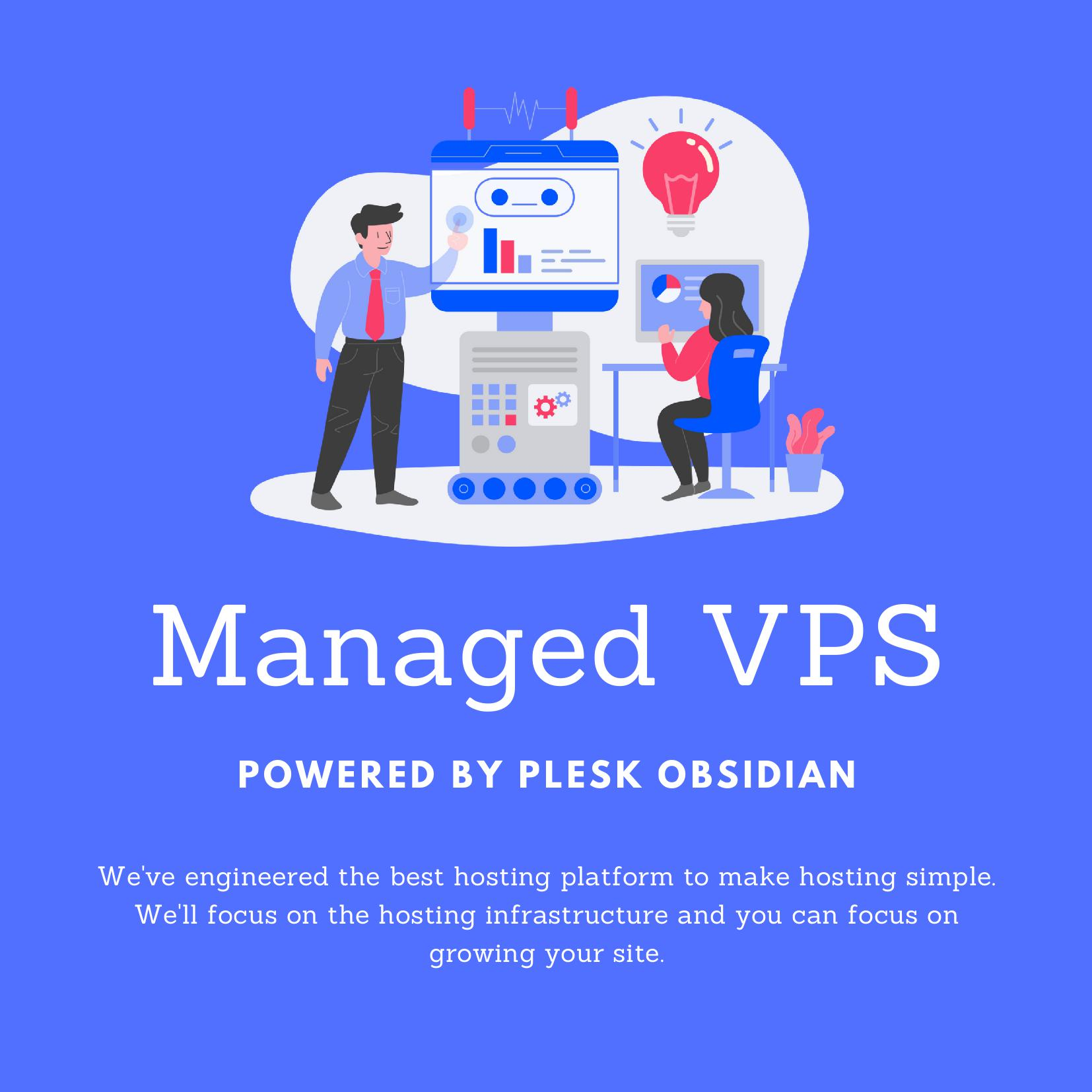 Managed Linux VPS cloud Infrastructure Plesk Obsidian Germany Migration Assistance