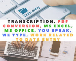 Get your Data management,  transcriptions done
