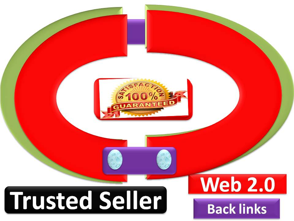 Over 10 web 2.0 profile backlinks on high page rank sites