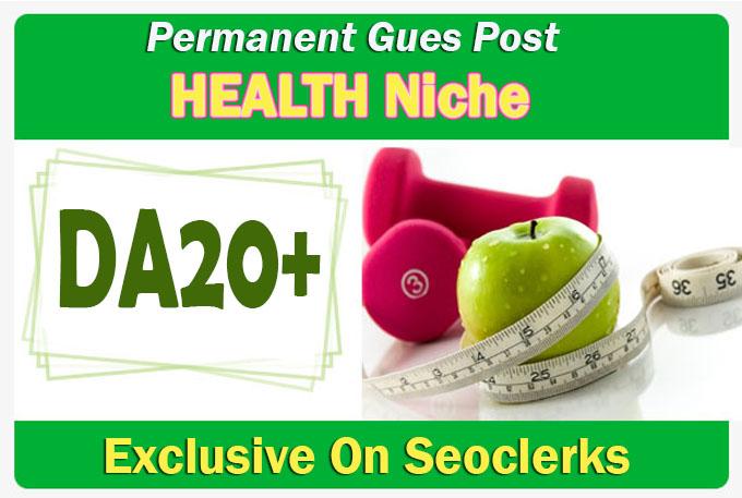 Da20+ health guest post