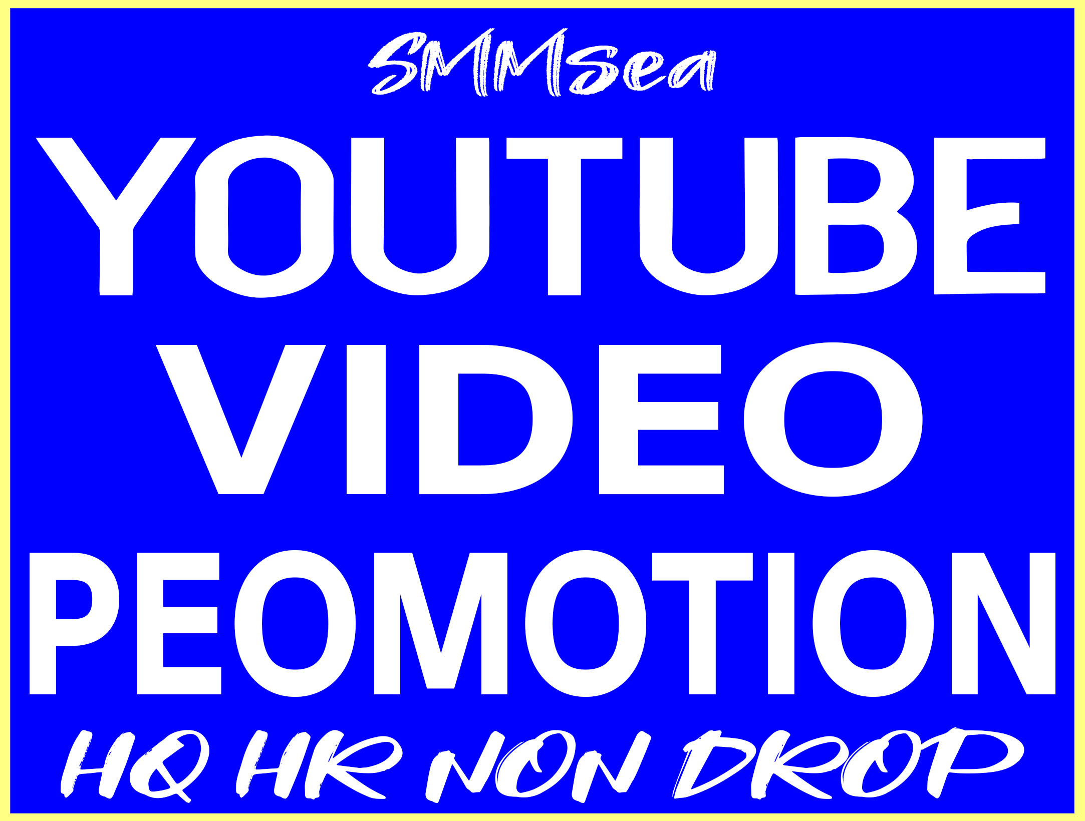 YouTube Video Promotion High Quality & Non Drop Service