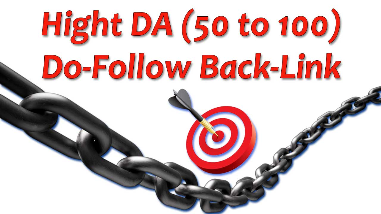 Get 10 High Domain Authority Do-Follow Backlinks