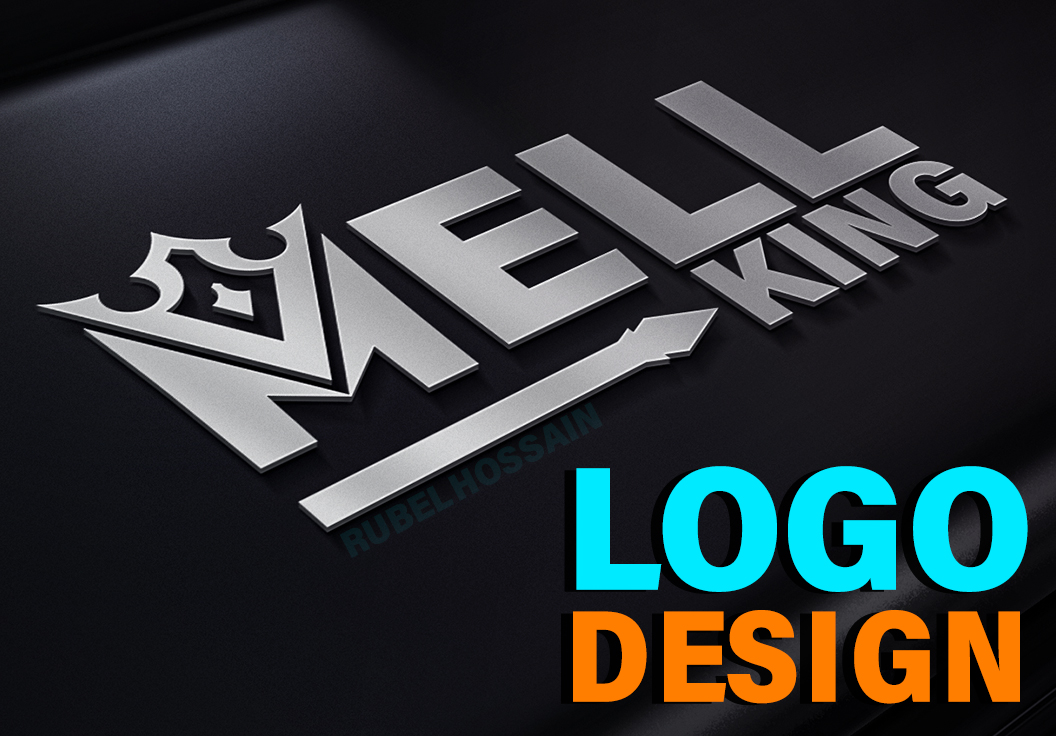 Design a professional logo in 1 day