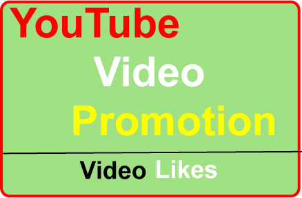 YouTube Video Thumbs up Promotion High-Quality Safe and non drop,  fast delivery