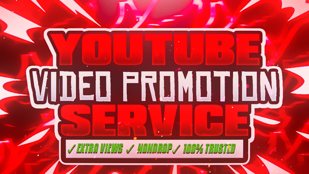 NON-DROP & HIGH QUALITY PROMOTION SERVICE