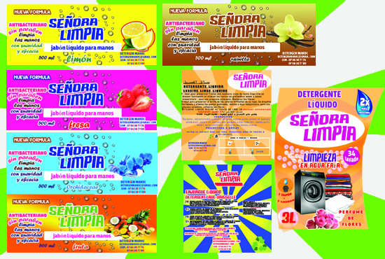 Design Product Label Product ,Food And Cosmetic Packaging