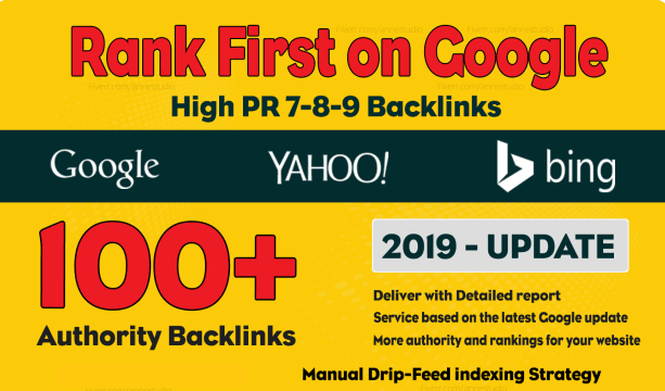Do 100 Manual Dofollow High Pr Backlinks With High Da Links rank first on Google