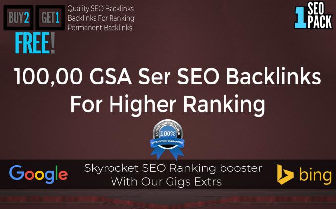 Build Dofollow 55,000 Gsa Ser Backlinks For SEO Rankings Unlimited URLs & Keywords