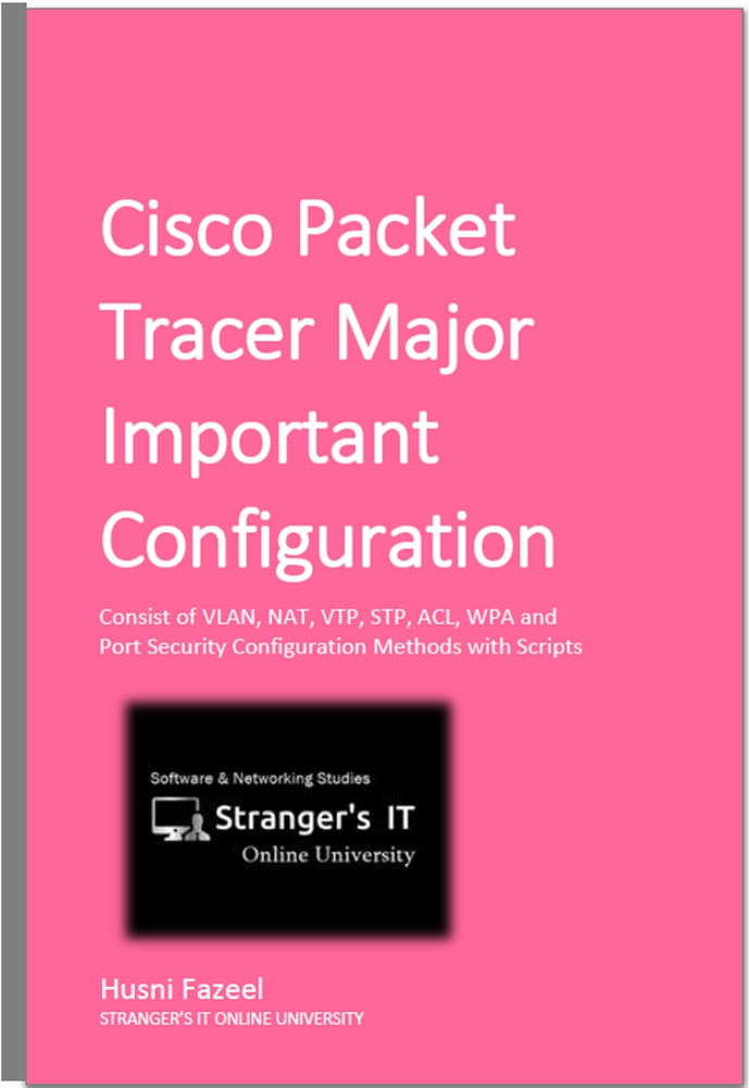 Cisco Packet Tracer Major Important Configurations
