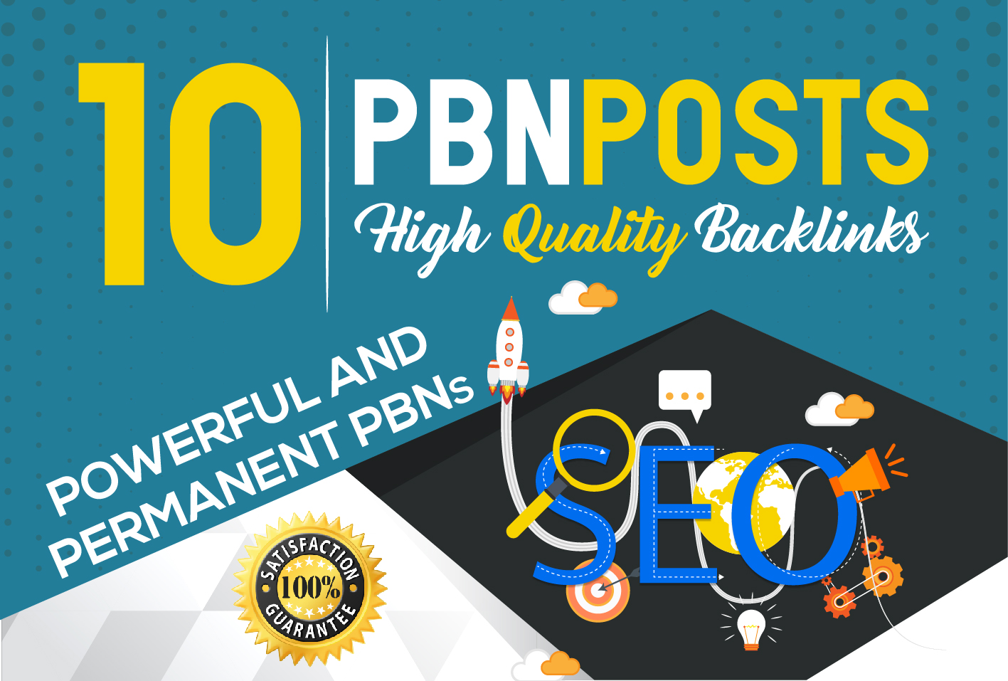 Provide 10 pbn high tf cf da pa backlink permanent