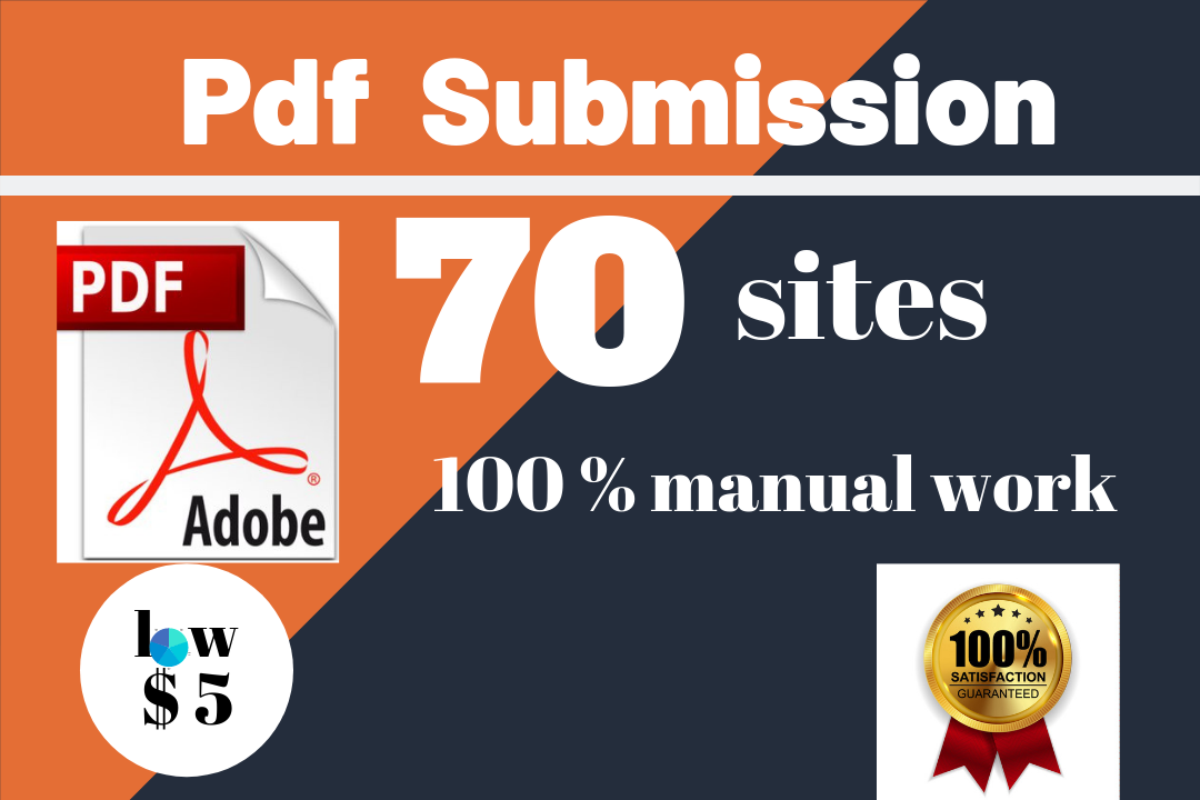 Pdf Or Article Submission On Top 70 Sharing Sites